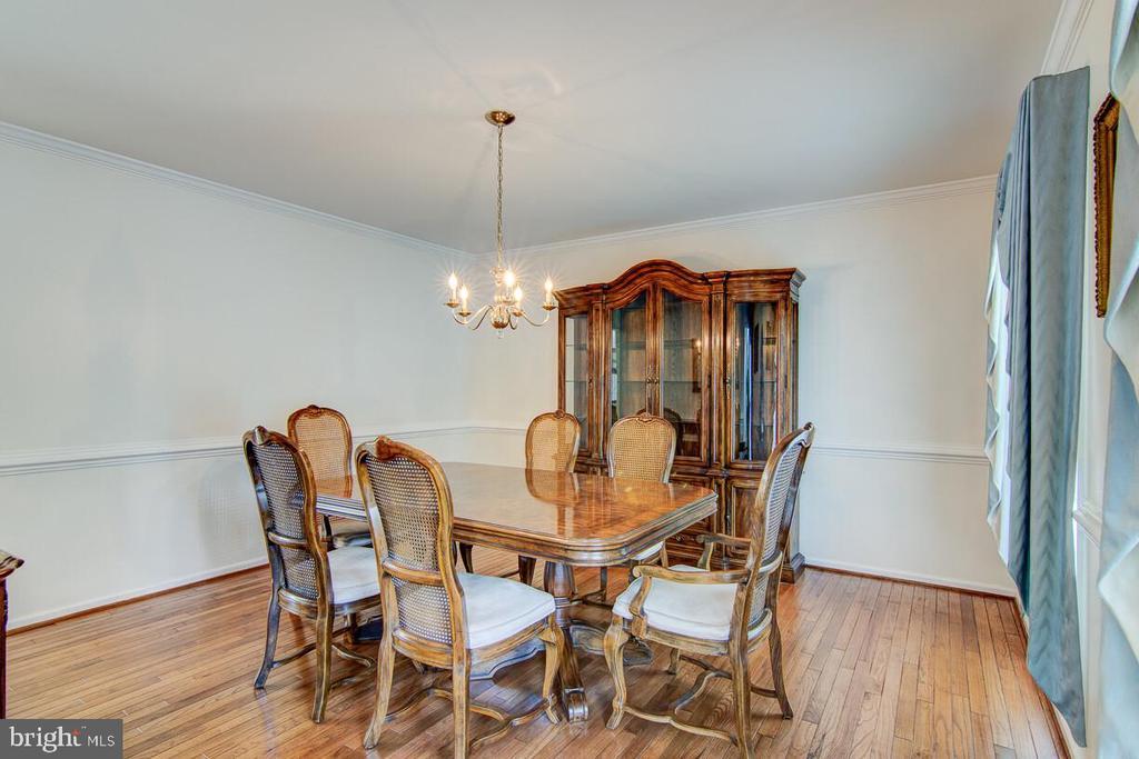 Formal Dining Room W/Hardwood - 10303 WAVERLY WOODS DR, ELLICOTT CITY