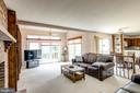 Huge Family Room With Fireplace - 10303 WAVERLY WOODS DR, ELLICOTT CITY