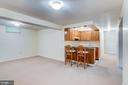 Basement Kitchen - 10303 WAVERLY WOODS DR, ELLICOTT CITY