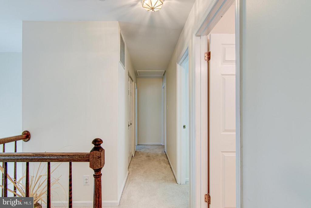 Second Floor Hallway - 10303 WAVERLY WOODS DR, ELLICOTT CITY