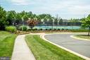 Neighborhood tennis courts - 43600 CANAL FORD TER, LEESBURG