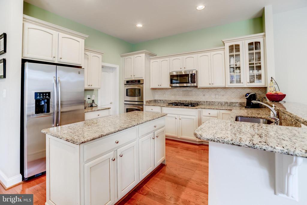 Granite counters & large pantry in kitchen - 43600 CANAL FORD TER, LEESBURG