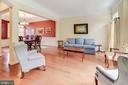 Spacious Living Room - 43600 CANAL FORD TER, LEESBURG