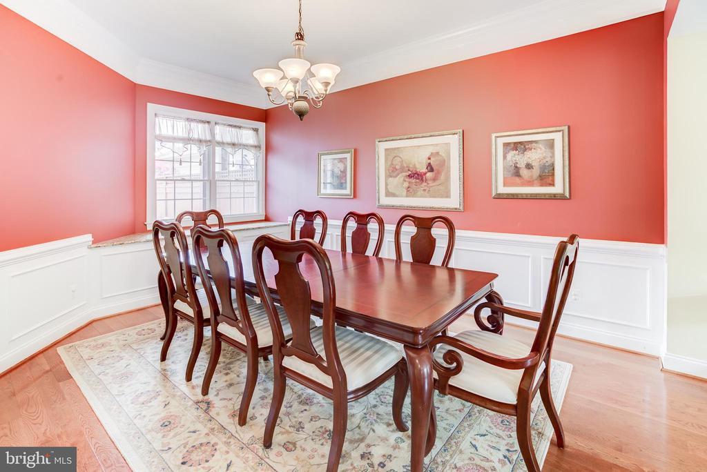 Light and Bright Dining Room - 43600 CANAL FORD TER, LEESBURG