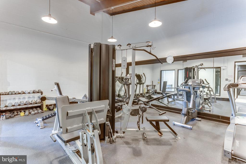 Onsite fitness center - 805 N HOWARD ST #336, ALEXANDRIA