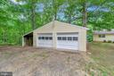 detached garage - 19 TALL TREE LN, FREDERICKSBURG