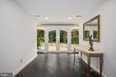 Light-filled entry hall - 2747 N NELSON ST, ARLINGTON
