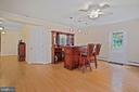 Access to large front deck and garden - 2747 N NELSON ST, ARLINGTON