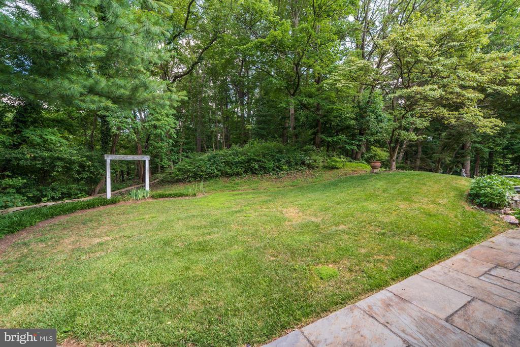 The spacious side yard off ML Family Room - 2747 N NELSON ST, ARLINGTON