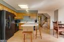 Open and spacious kitchen - 8873 OLD SCAGGSVILLE RD, LAUREL