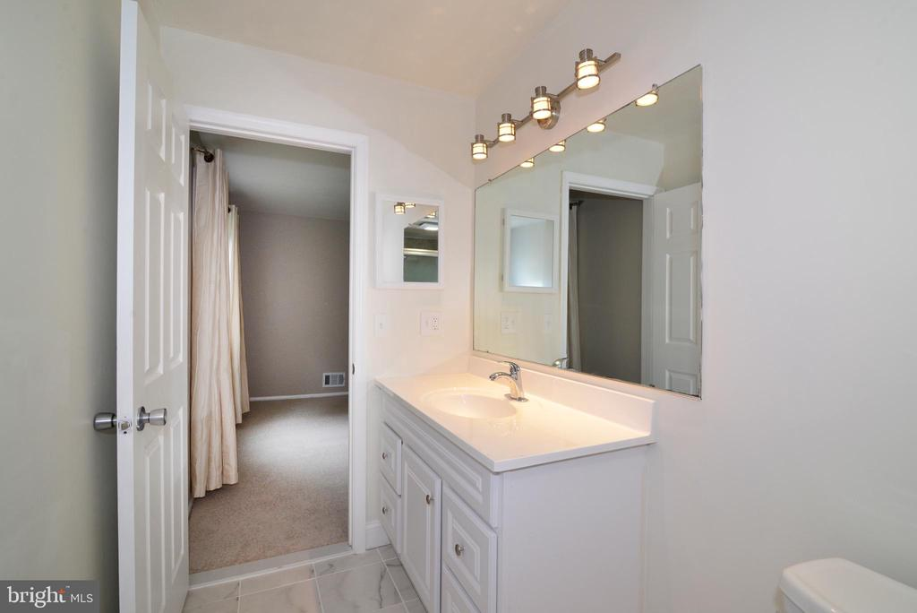 Master Bath NEW lighting and fixtures - 246 W MEADOWLAND LN, STERLING