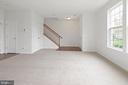 Entry Living room - 43666 CHICACOAN CREEK SQ, LEESBURG