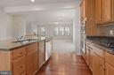 Kitchen Stainless Steel Appliances & Granite - 43666 CHICACOAN CREEK SQ, LEESBURG