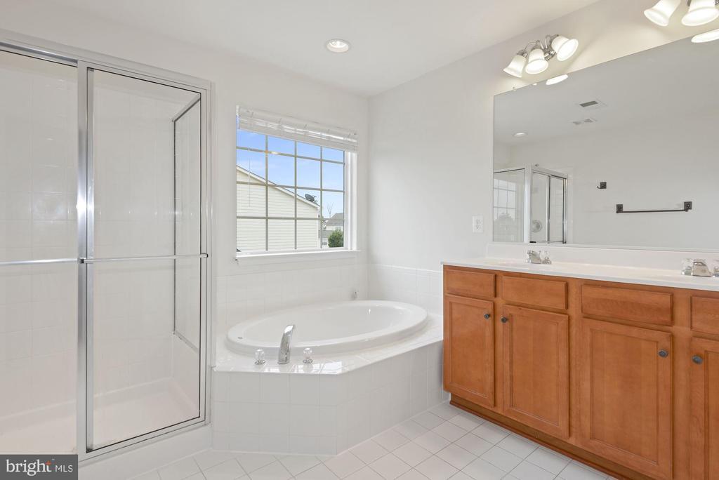 Master Bathroom Soaking Tub  & Double Vaniety - 43666 CHICACOAN CREEK SQ, LEESBURG