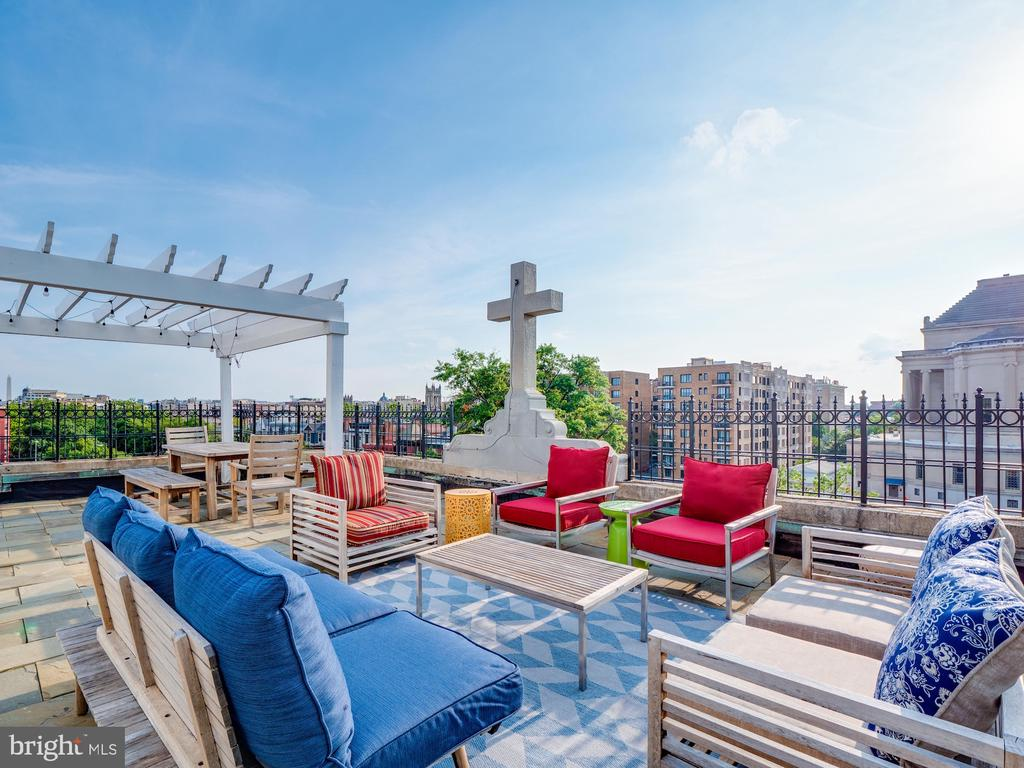 Rooftop Deck with 360 views - 1717 15TH ST NW, WASHINGTON