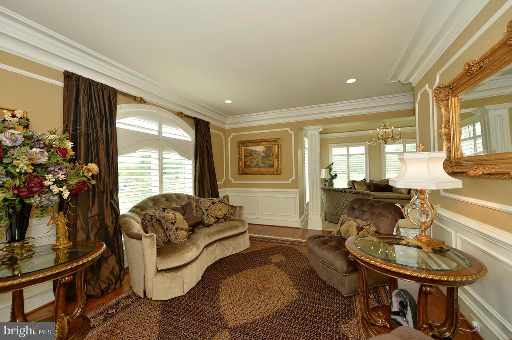 Formal living room - 40483 GRENATA PRESERVE PL, LEESBURG