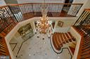 Upper level overlook to foyer - 40483 GRENATA PRESERVE PL, LEESBURG