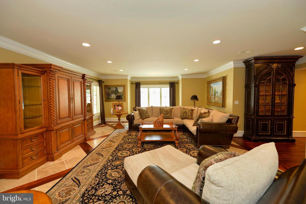 Lower level recreation room - 40483 GRENATA PRESERVE PL, LEESBURG