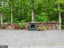 Cozy Outdoor Fireplace - 32420 GADSDEN LN, LOCUST GROVE