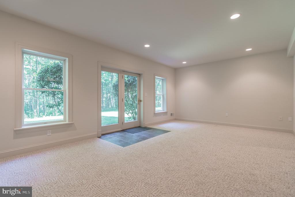 Lower Level Recreation Room - 5229 GRIFFITH RD, GAITHERSBURG