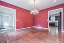 Dining Room - 5229 GRIFFITH RD, GAITHERSBURG