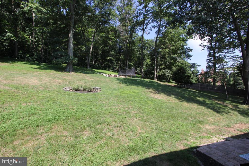 Rear deck view 2 - 5520 BOOTJACK DR, FREDERICK