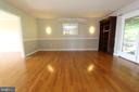Dining room, view 3 - 5520 BOOTJACK DR, FREDERICK