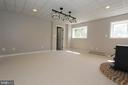Recreation room has amazing views - 5520 BOOTJACK DR, FREDERICK