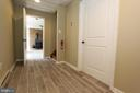 Entry mudroom from garage to finished lower level - 5520 BOOTJACK DR, FREDERICK
