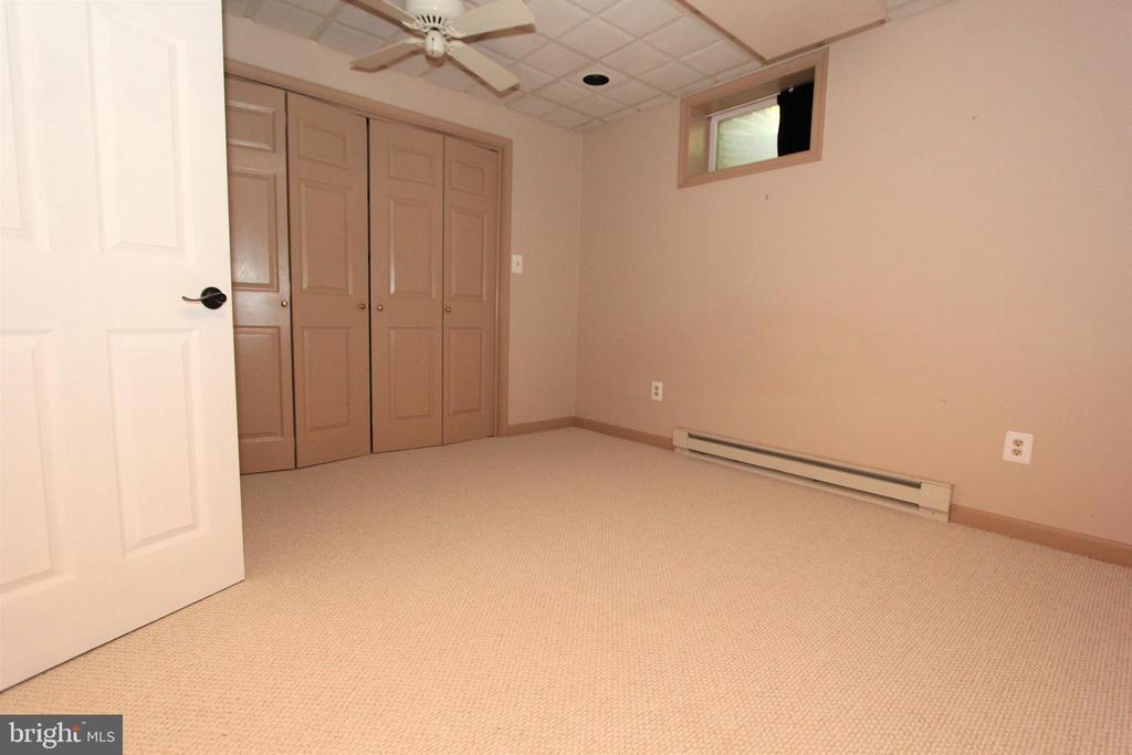 Lower level bedroom 5 with new carpet - 5520 BOOTJACK DR, FREDERICK