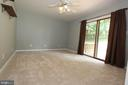 Bedroom 3, with private access to a private deck - 5520 BOOTJACK DR, FREDERICK