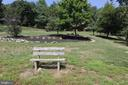 Even a bench to reflect on the views - 5520 BOOTJACK DR, FREDERICK