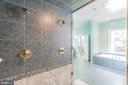 Main Level Master Shower - 5229 GRIFFITH RD, GAITHERSBURG
