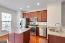 Kitchen with appliance - 4512 POTOMAC HIGHLANDS CIR, TRIANGLE