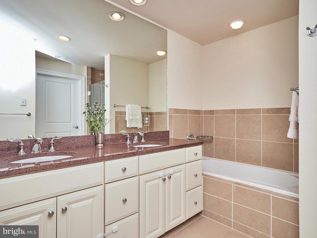 Relaxing Master Bath w/ Dual Sinks, Soaking Tub - 3625 10TH ST N #408, ARLINGTON