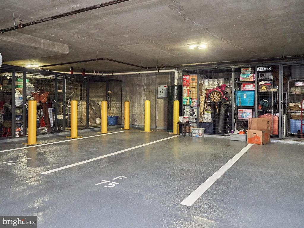 Assigned Parking Space 75 & storage attached to it - 3625 10TH ST N #408, ARLINGTON