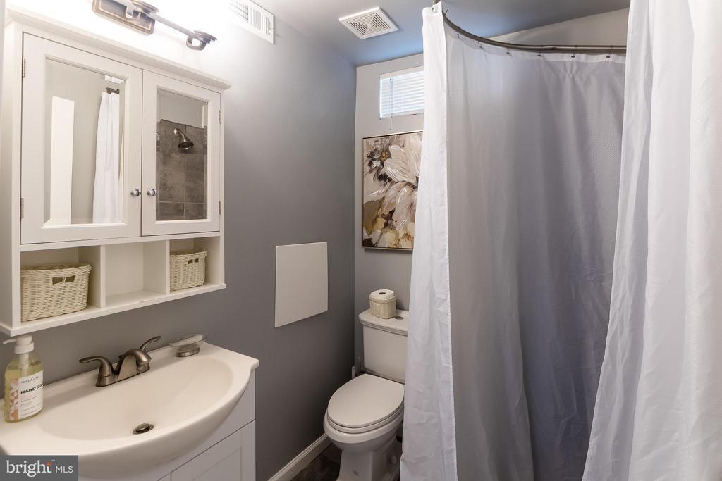 Basement bathroom - 2209 FRANKLIN ST NE, WASHINGTON