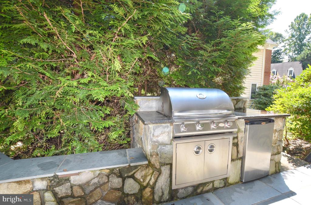 Grilling and entertaining station - 20592 CUTWATER PL, STERLING
