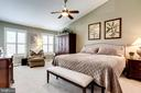 Master Bedroom with Vaulted Ceiling - 20938 SANDSTONE SQ, STERLING