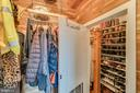 ...and functional space saving shoe closet..... - 13814 ALDERTON RD, SILVER SPRING