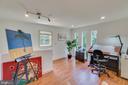 Upstairs studio, office, meditation/yoga space - 13814 ALDERTON RD, SILVER SPRING
