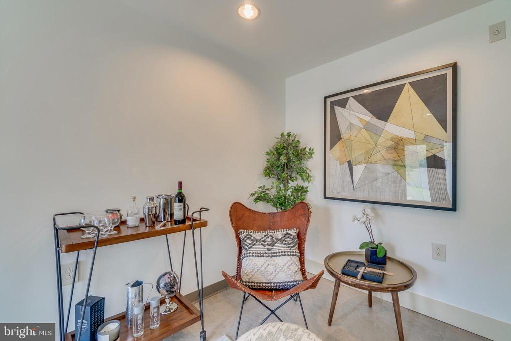 Not a bad private space for a unwinding - 13814 ALDERTON RD, SILVER SPRING