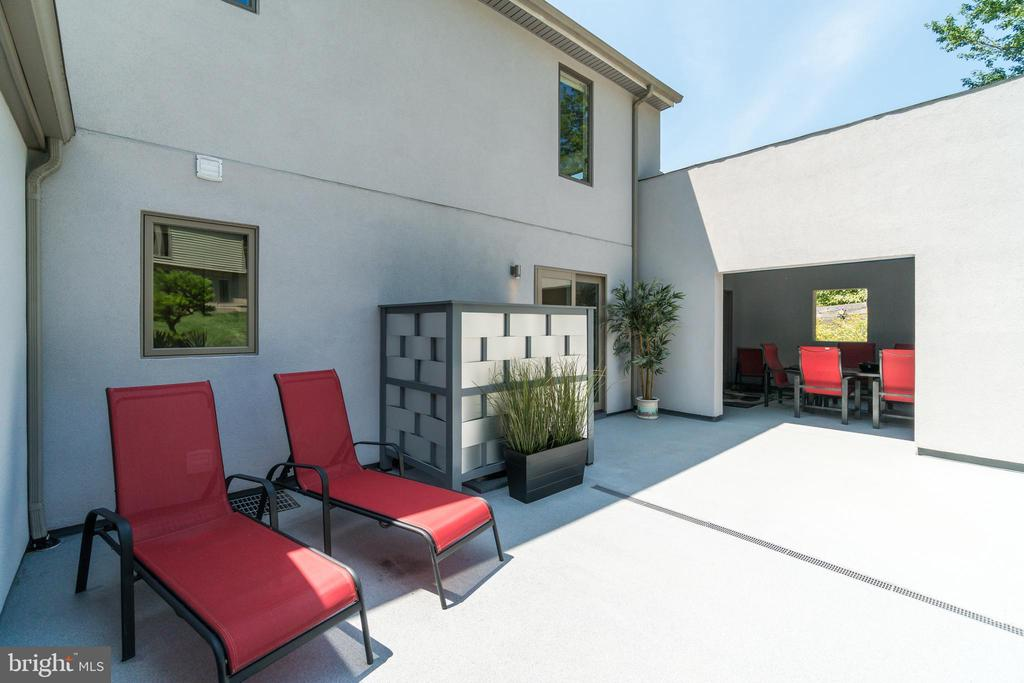 Many outdoor living areas pepper an exquisite home - 13814 ALDERTON RD, SILVER SPRING