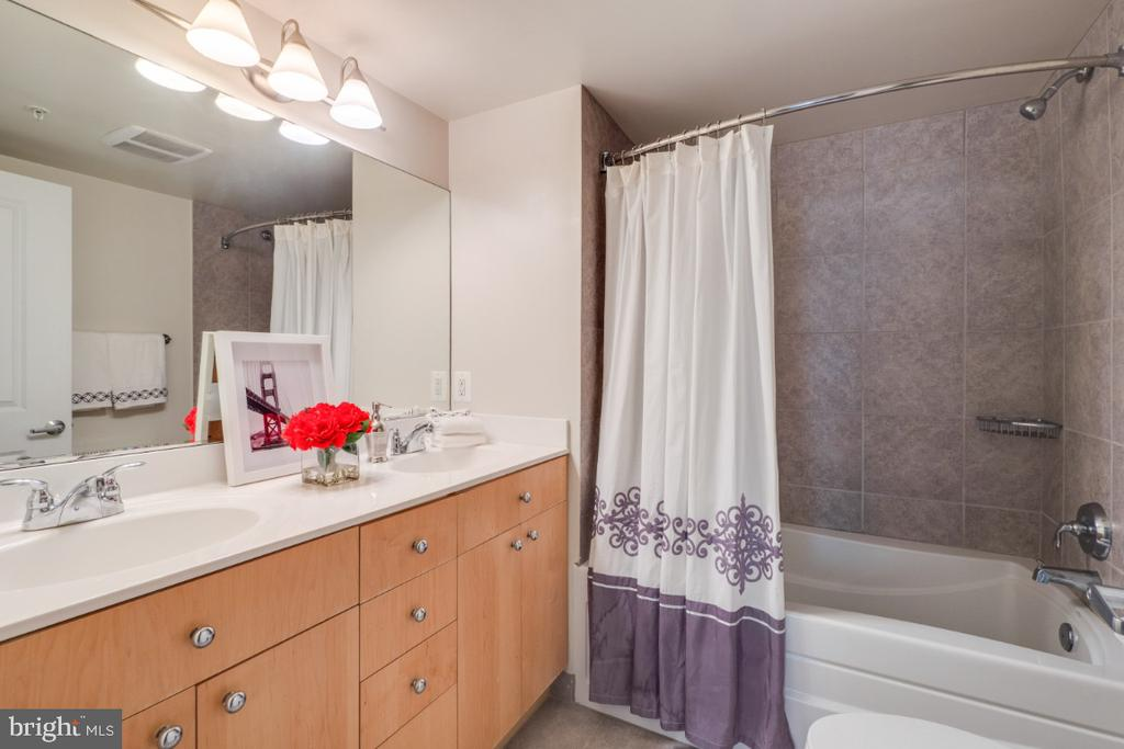 Owner's Bathroom w/ double sinks - 820 N POLLARD ST #603, ARLINGTON