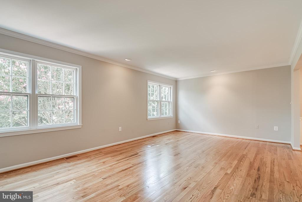 Bright open spacious living room - 667 N ARMISTEAD ST, ALEXANDRIA
