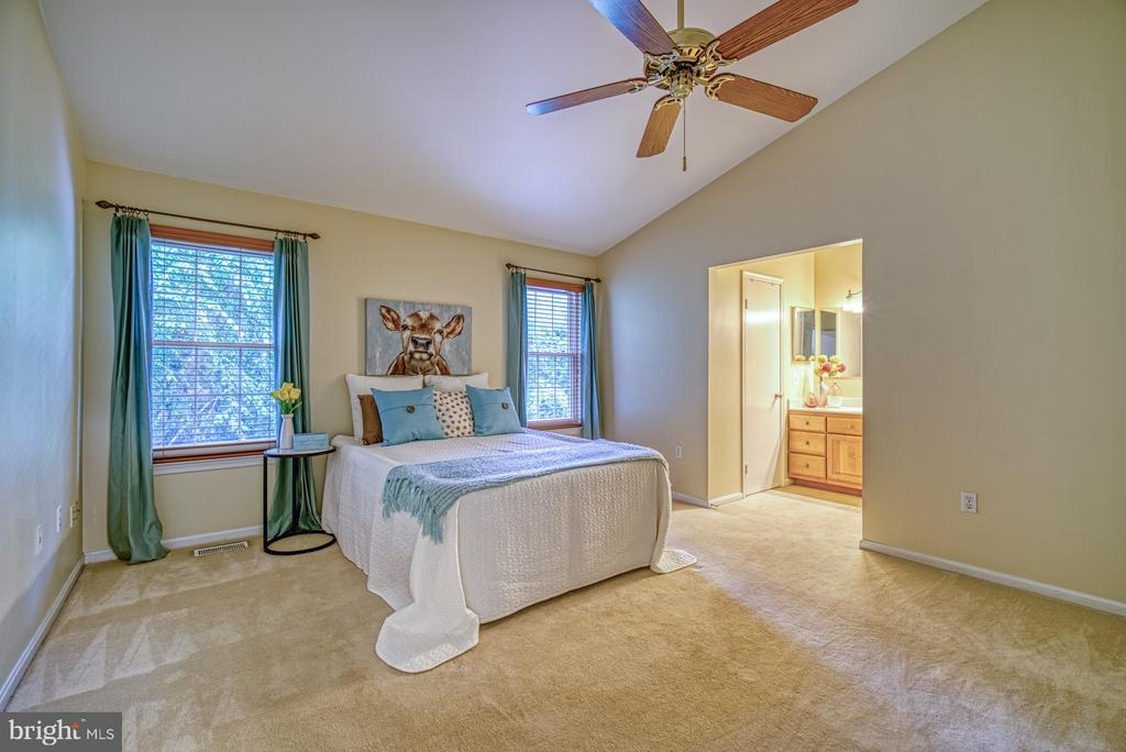 Luxurious owners suite with walk in closet - 7104 BEDSTRAW CT, SPRINGFIELD