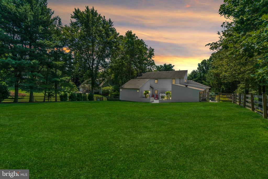 ...this enormous, private fenced level yard galore - 13814 ALDERTON RD, SILVER SPRING