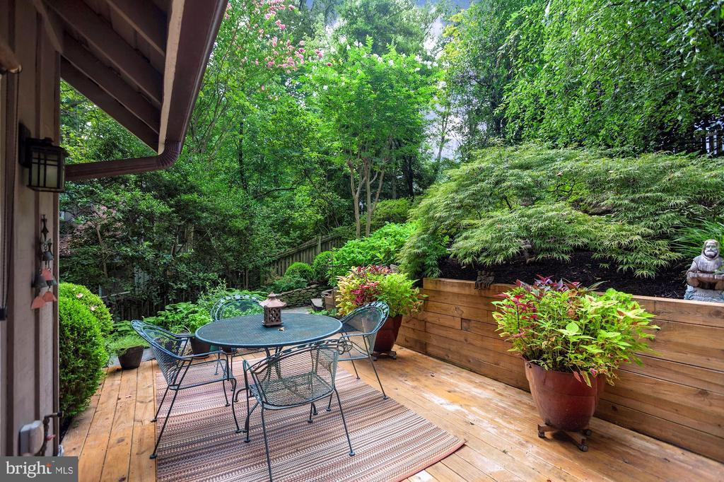 2ND DECK OFF FAMILY ROOM WITH GAS GRILL TO CONVEY - 9500 WOODSTOCK CT, SILVER SPRING
