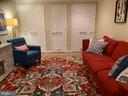 RECREATION RM WITH 3 LIGHTED STORAGE CLOSETS - 9500 WOODSTOCK CT, SILVER SPRING