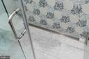 Showers have custom linear drains - 1845 POTOMAC GREENS DR, ALEXANDRIA